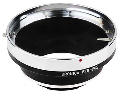Bronica ETR Lens to Canon EOS Adapter