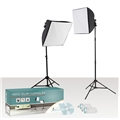Photo Video uLite 2 Light Home Studio Light Kit