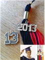 Date Charms for Graduation Tassels