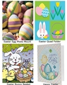 4x6 Easter Photo Holders