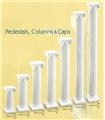 Plastic White Columns Wholesale