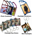 Photo Flashlight Key Chains