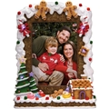 Gingerbread Light-Up Photo Frame
