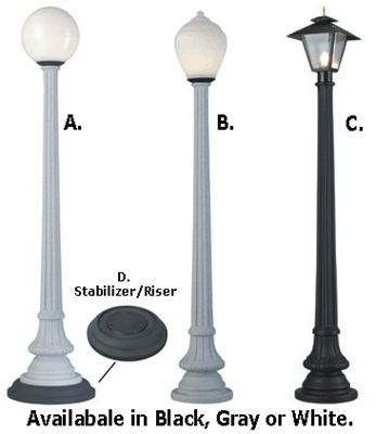 Street Lamps for Events