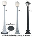 Display Street Lamps