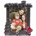 Christmas Pewter Photo Frame