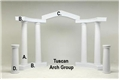Tuscan Arch Group Photo Props