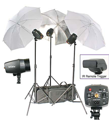 Photo Flash Light Kit