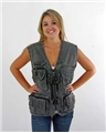 Photo Vests Stone Washed