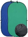 Collapsible Blue/Green Photo Backdrop
