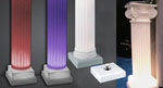 Lighted Pedestal Base