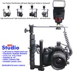 Digital Flash Bracket TTL, Electronic Shutter Release
