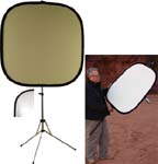 42'' Natural Muslin/Silver Photo Reflector