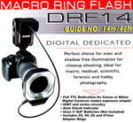 Macro Ring Photo Flash with Dedicated TTL