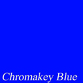 Blue Chroma-Key Muslin