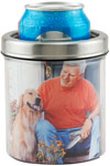 Stainless Photo Can Cooler