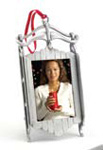 Christmas Sled Photo Ornament Frame