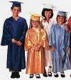 Graduation Gowns for Photography - Child`s