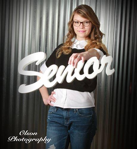 Photo Prop Senior Posing