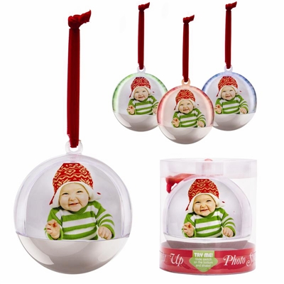 Christmas Light Picture Ornament