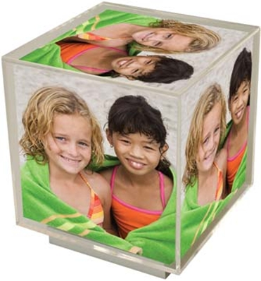 Spinning Photo Cube Frame