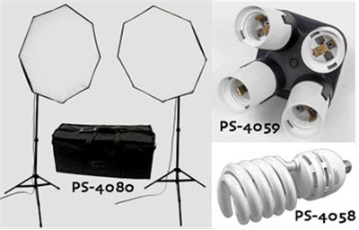Florescent Light Photo Video Kit