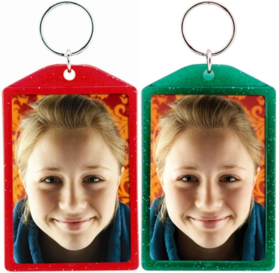 Christmas Picture  Key Chains