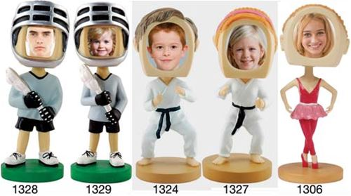 Child's Photo Bobble Heads