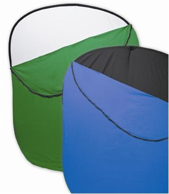 Collapsible Green Photo Backdrops