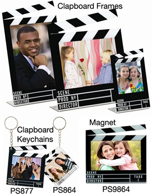 Hollywood Clapboard Picture Frames