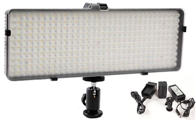 Portable ''LED'' Light Photo Video