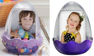 Easter Picture Snowglobes