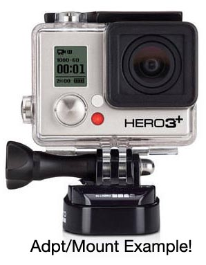 GoPro® Camera Handlebar Mount