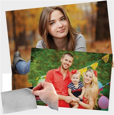Photo Magnet Wallet and Business Cards