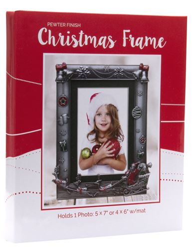 Santa Clause 4x6 Photo Frame