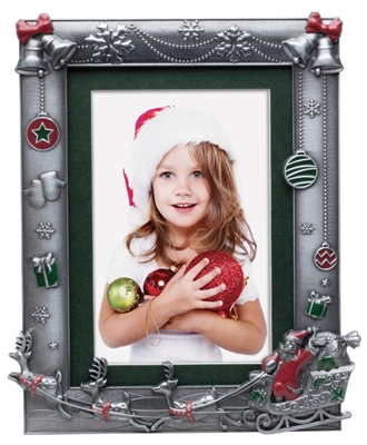 Christmas Santa Picture Frame