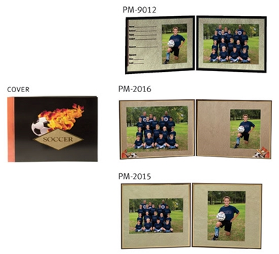 Soccer Photo Folder