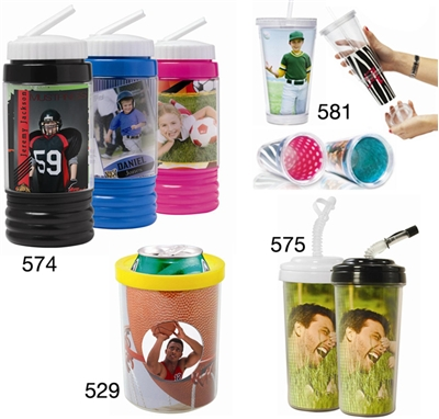 Sports Bottles with Photo