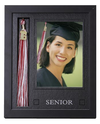 graduation picture frames with tassel holder