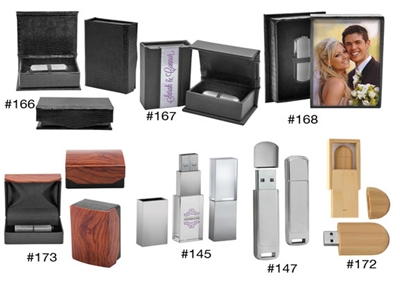 Flash Drive Photo Presentation Cases
