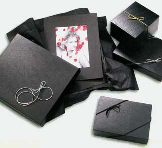 Black Photo Packaging Boxes