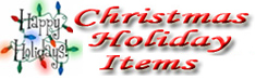 Christmas Holiday Items